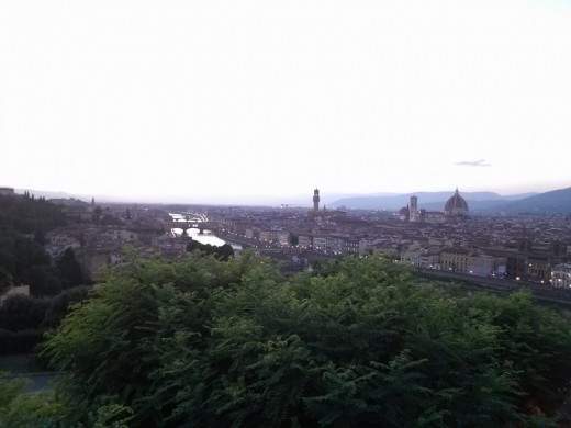 From Piazzale Michelangelo