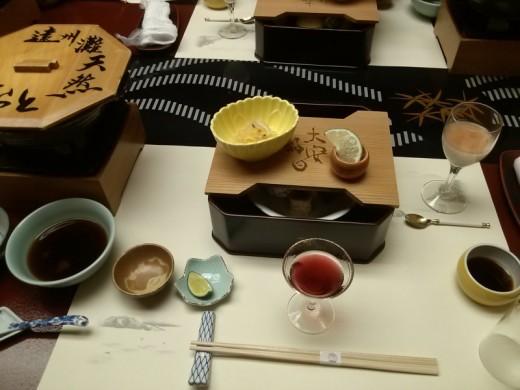 前菜(なのか?)
